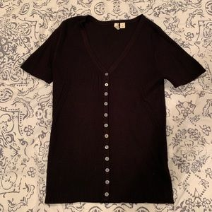 Anthropologie fitted shirt